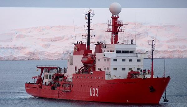 The Oceanographic Research Vessel (BIO) Hespérides